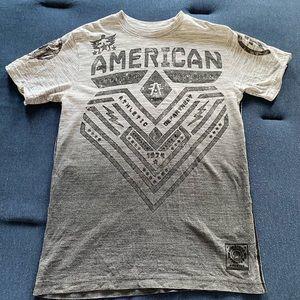 Mens American Fighter Tee